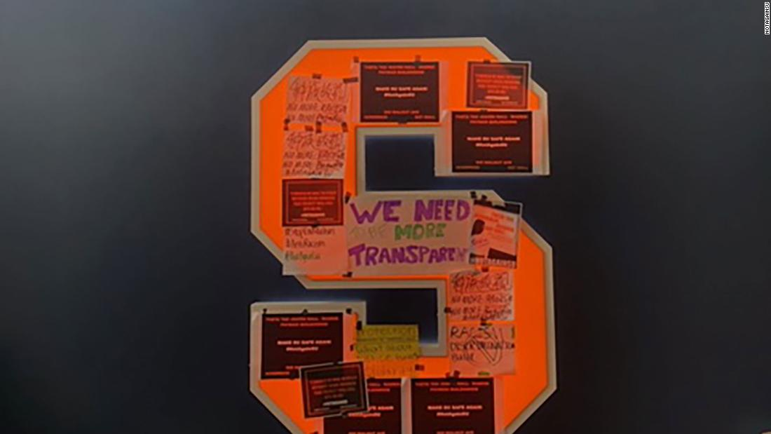 Syracuse University asks Loretta Lynch to review their Department of Public Safety following response to student protests over racist incidents