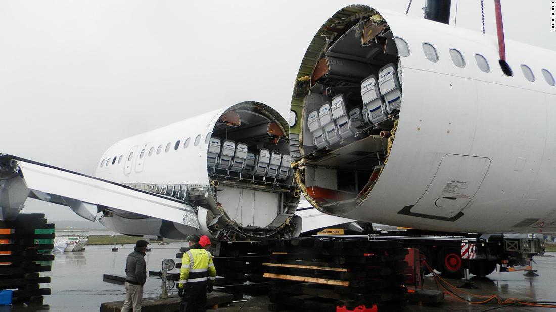 Lahir lagi: Dinonaktifkan pesawat sampai sewa baru pada kehidupan
