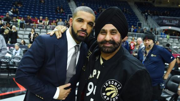 Toronto Raptors' biggest fan—Nav Bhatia, the guy with the turban with floor seats—has attended all of the Canadian team's games in person since 1995.