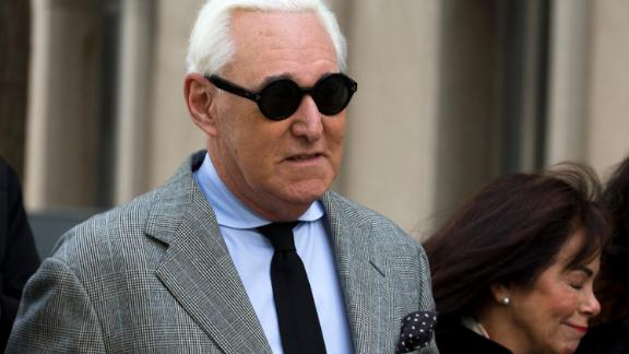 Image for Roger Stone sentenced to 40 months in prison amid Trump complaints against prosecutors