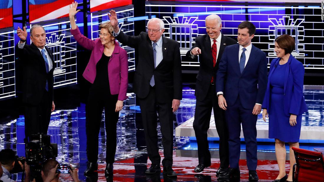 Monster Bewertungen für Las Vegas Debatte Rekord brechen für die Demokratische Partei