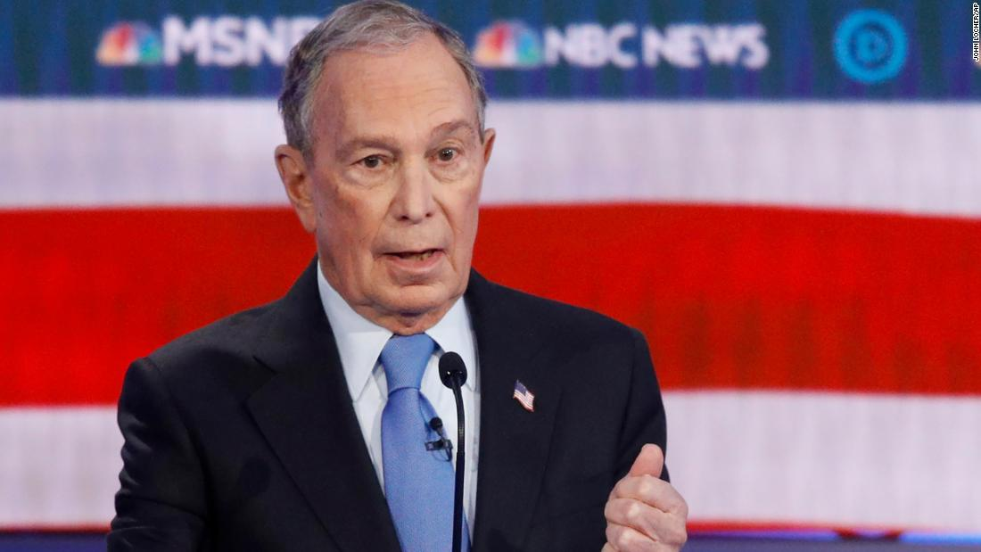 Bloomberg says he won't release women from confidentiality agreements when pressed by Warren