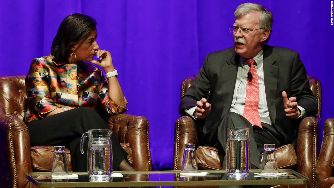 Susan Rice tells Bolton that withholding testimony is 'inconceivable'