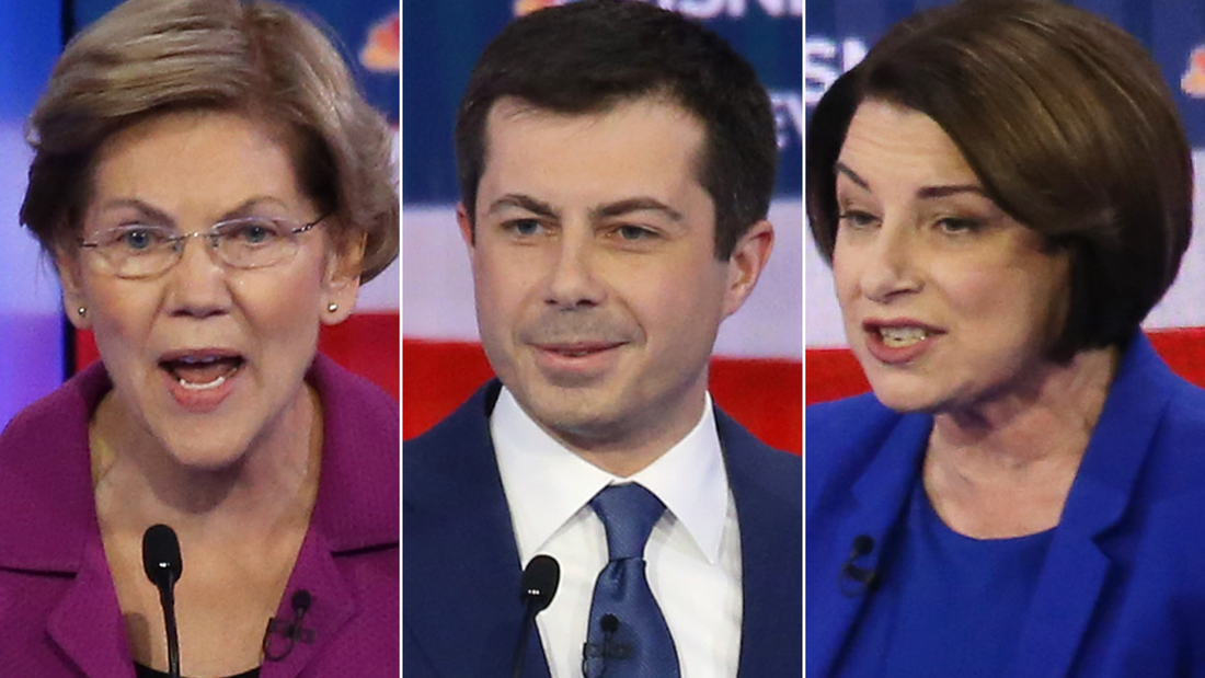 Warren slams Buttigieg and Klobuchar on health care