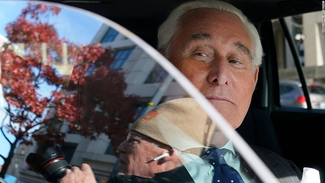 Roger Stone asks to disqualify judge from his case