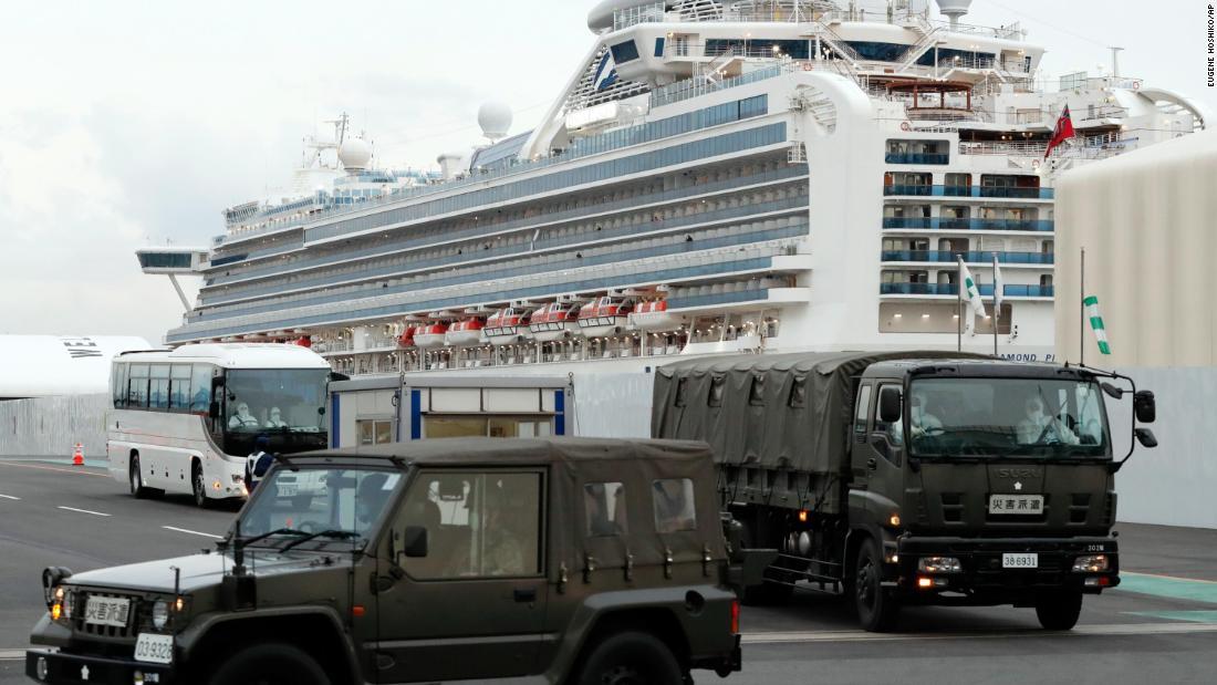Coronavirus cruise ship to undergo major cleaning before April sail