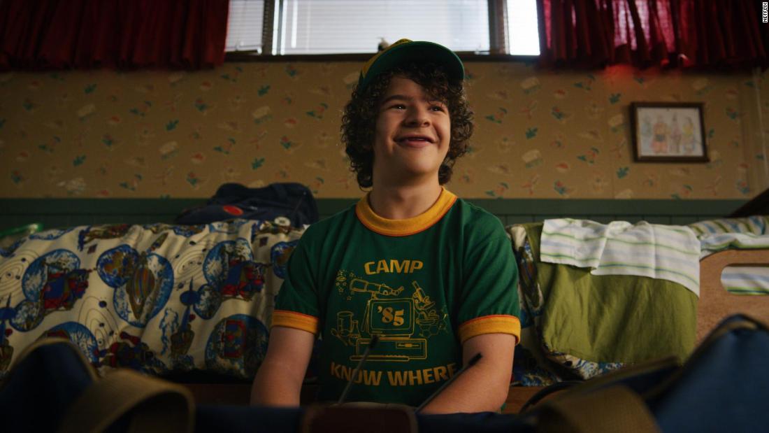 'Stranger Things' actor shines light on rare disorder