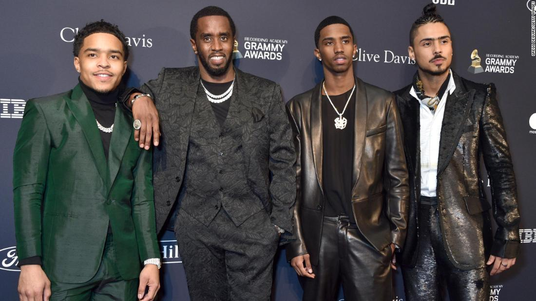 Sean Combs sons set as judges for 'Making the Band' reboot
