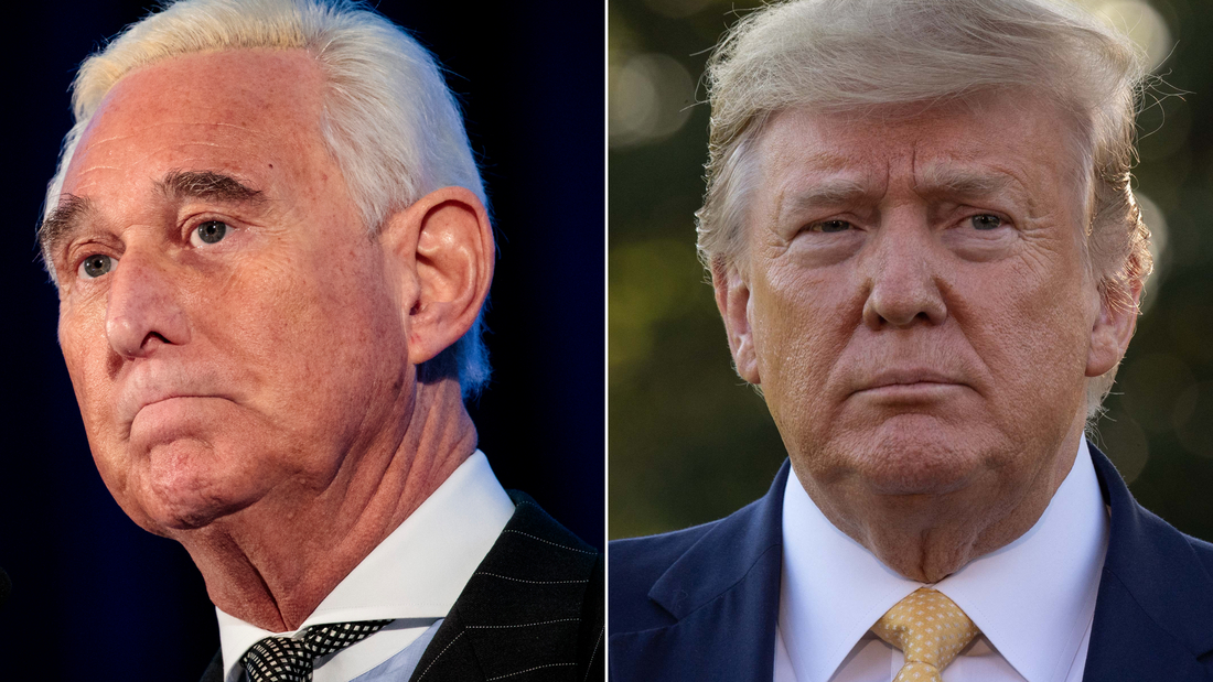 Trump defends decision to commute Roger Stone's sentence