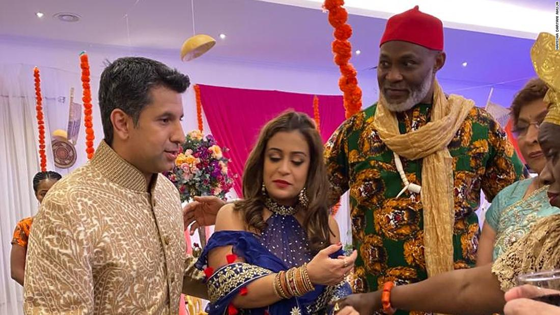 Bollywood and Nollywood collide in a tale of a big fat Indian-Nigerian wedding