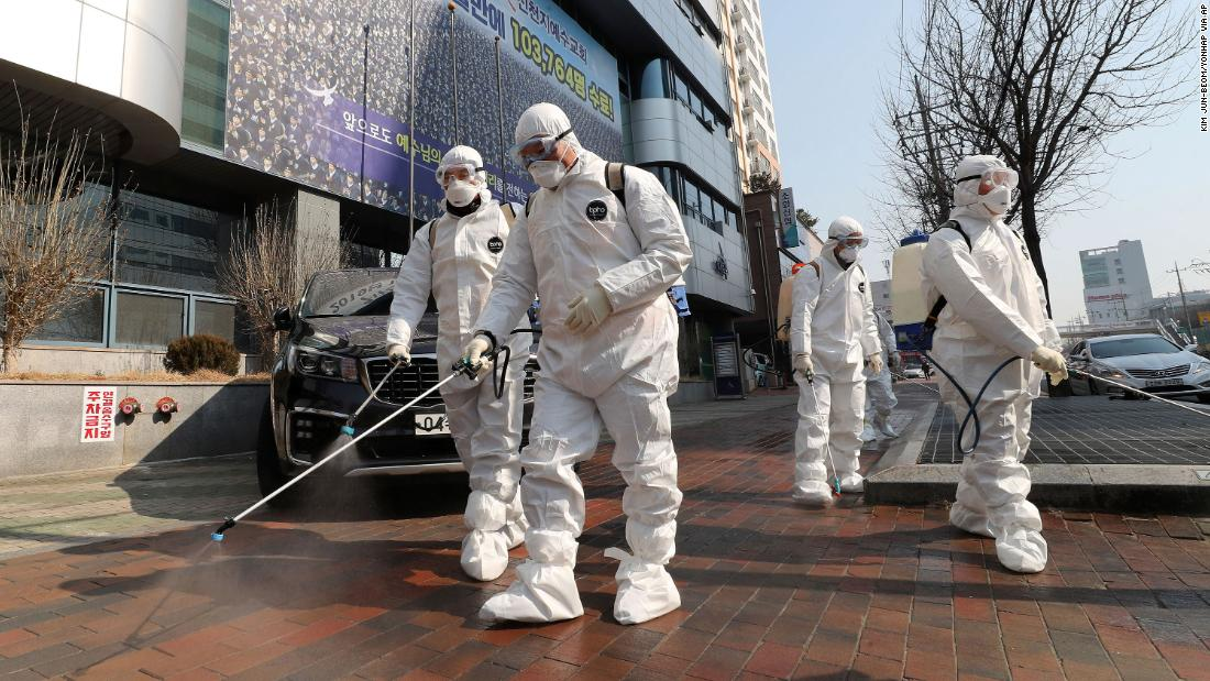 Infections skyrocket in South Korea