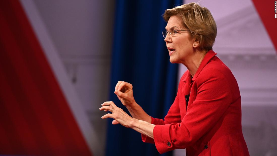 Warren says she'd endorse Bloomberg against Trump