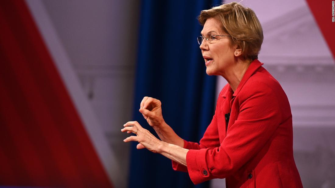 Warren sagt rival sollte disqualifiziert werden, aber Sie würde immer noch ihn unterstützen