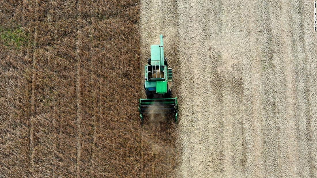 The worst may be over for farmers in the US
