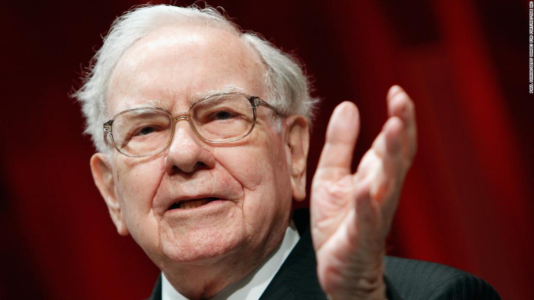 Warren Buffett admits to a rare 'mistake'