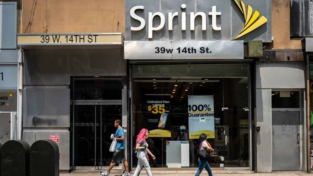 Sprint's stock is in the double digits for the first time since 2014