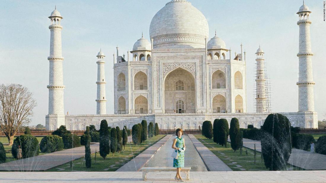 Melania Trump, die nächsten in der langen Reihe der first ladies zu Besuch in Indien