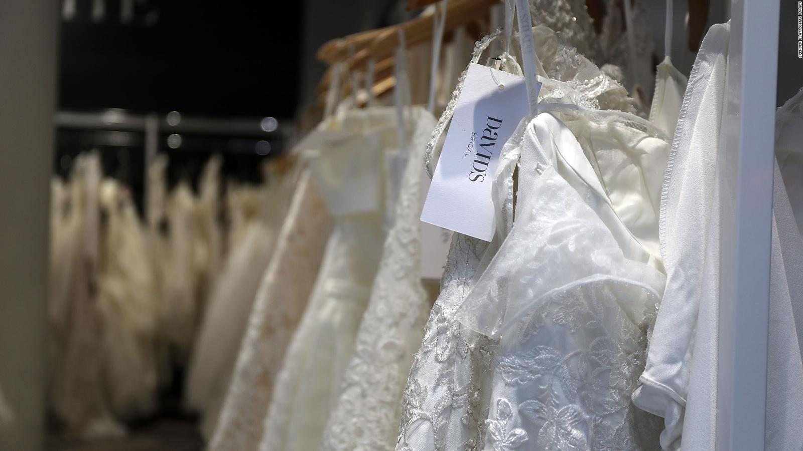 Bridal Gowns Will Be In Short Supply For Wedding Season Because Of
