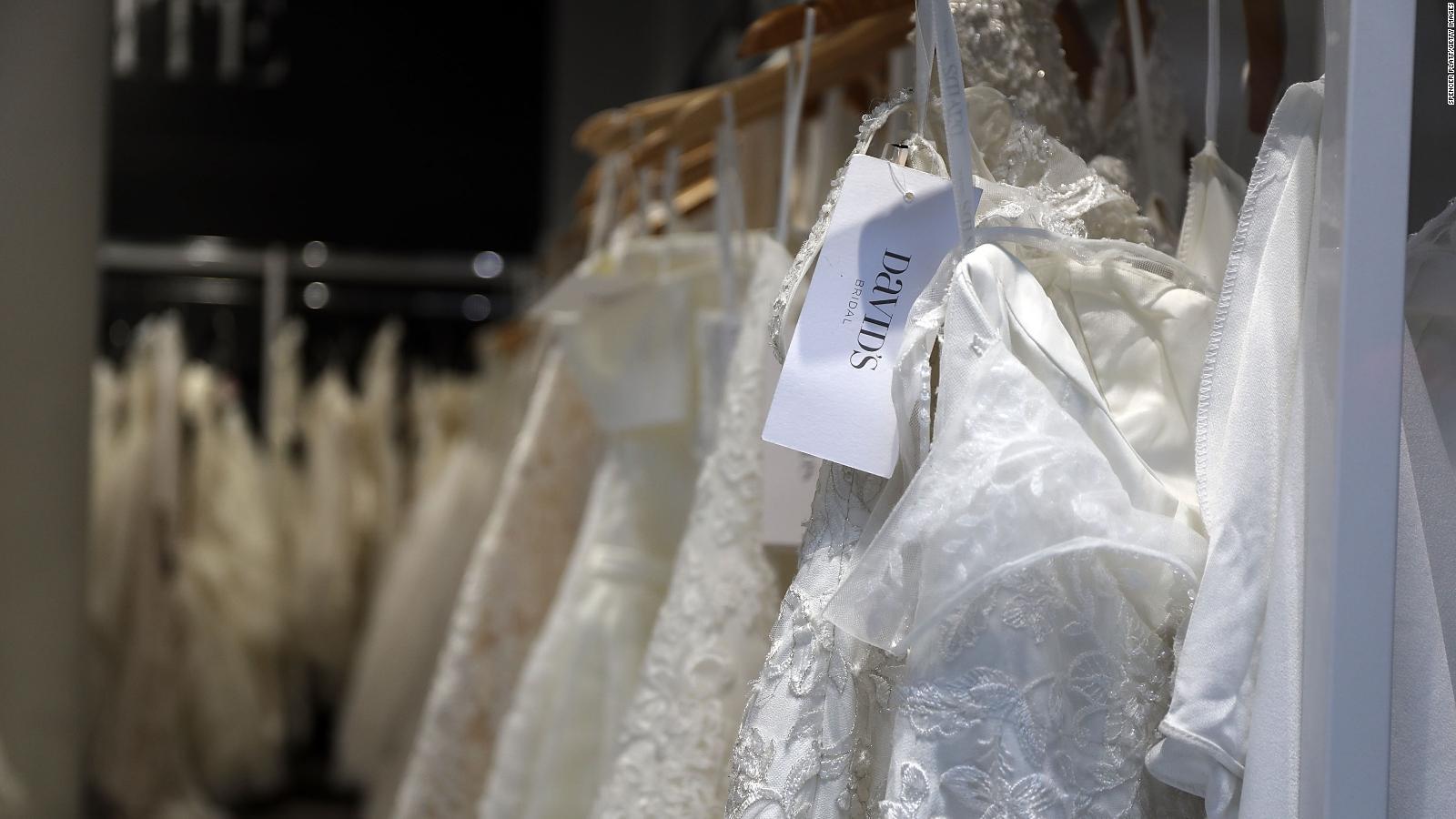 Bridal Gowns Will Be In Short Supply For Wedding Season Because Of Coronavirus Cnn,Wedding Dress Sample Sale 2020 Los Angeles