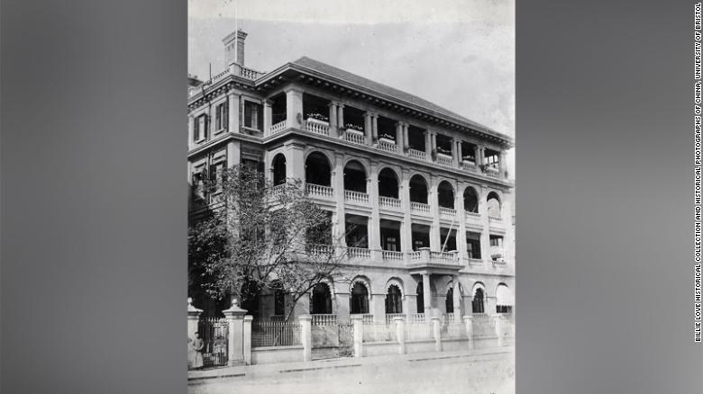 """Holt House беше офисът на Butterfield & Swire, една от най-големите и известни британски """"хонги"""" или търговски къщи в Китай."""