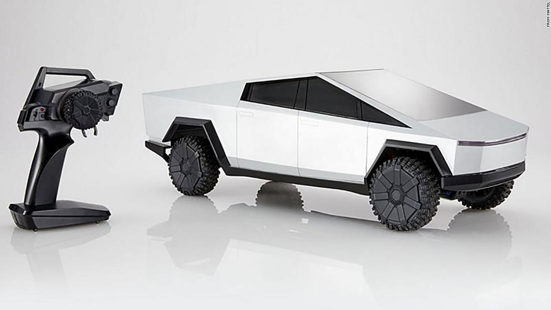 Hot Wheels to launch a radio-controlled Cybertruck complete with a cracked vinyl sticker