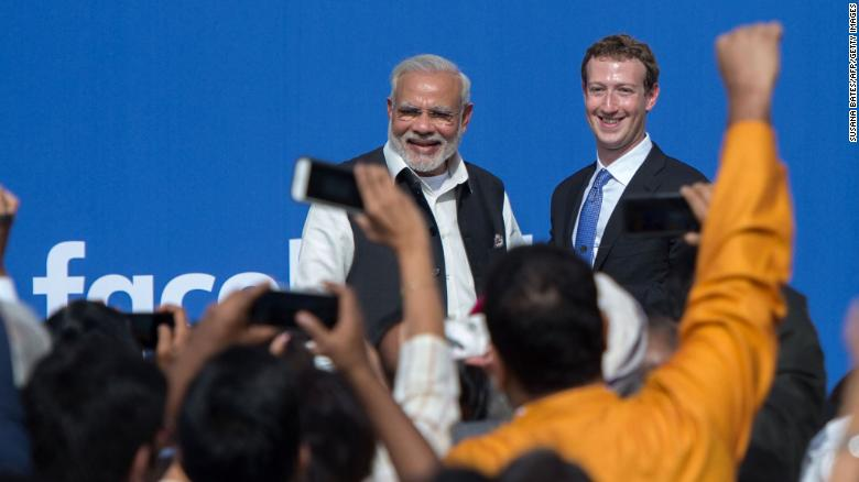The last decade saw Silicon Valley's top executives woo India and its leader, Narendra Modi.