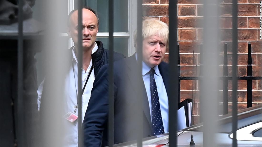 Boris Johnson under pressure to sack aide over reported lockdown breach