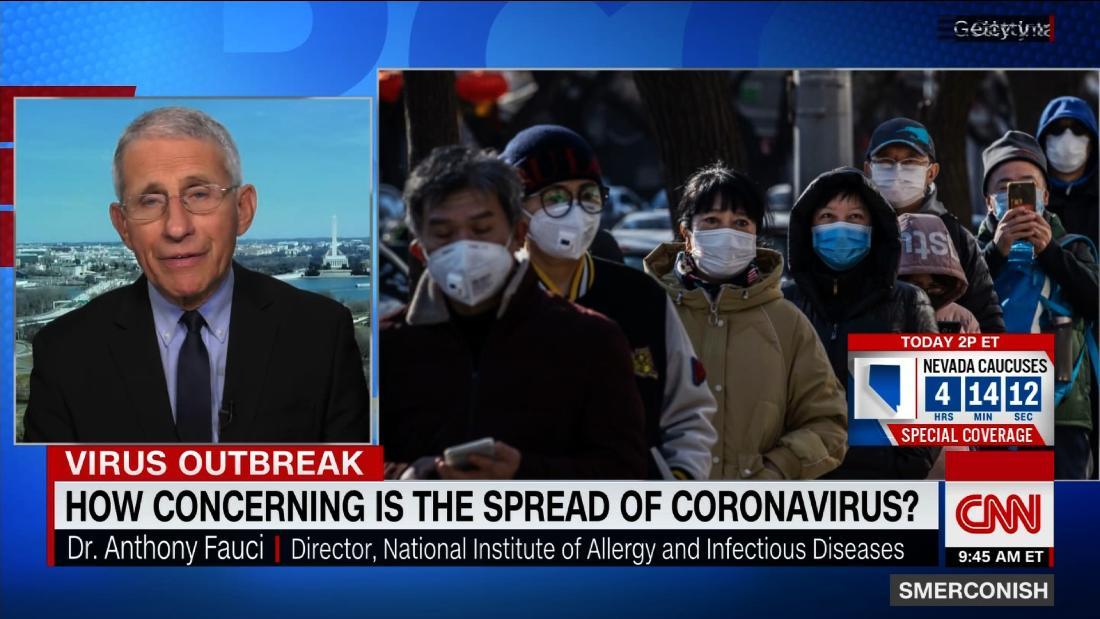 Immunologe: Coronavirus hat 'das Zeug zu einer Pandemie'