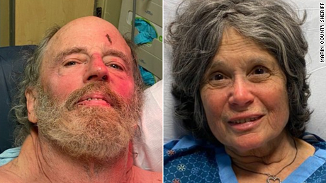 Ian Irwin, 72, and Carol Kiparsky, 77, are recovering in a hospital.