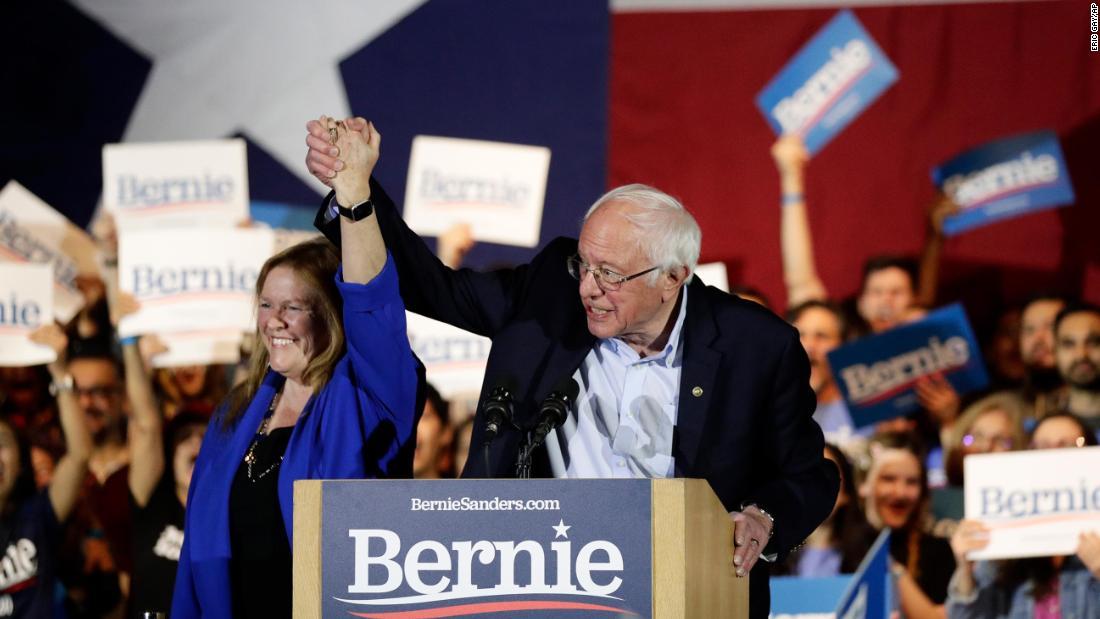 Bernie探した説得力のある優勝、女子のレースに苦戦しているクリスCillizzaの拡張の夜