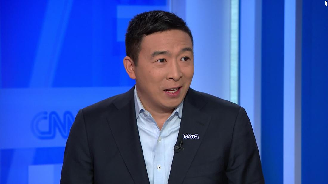 Yang suggests candidates should 'pull an Andrew Yang'