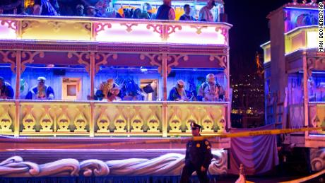 A person was hit and killed by a float of the Krewe of Endymion parade Saturday in the runup to Mardi Gras in New Orleans.