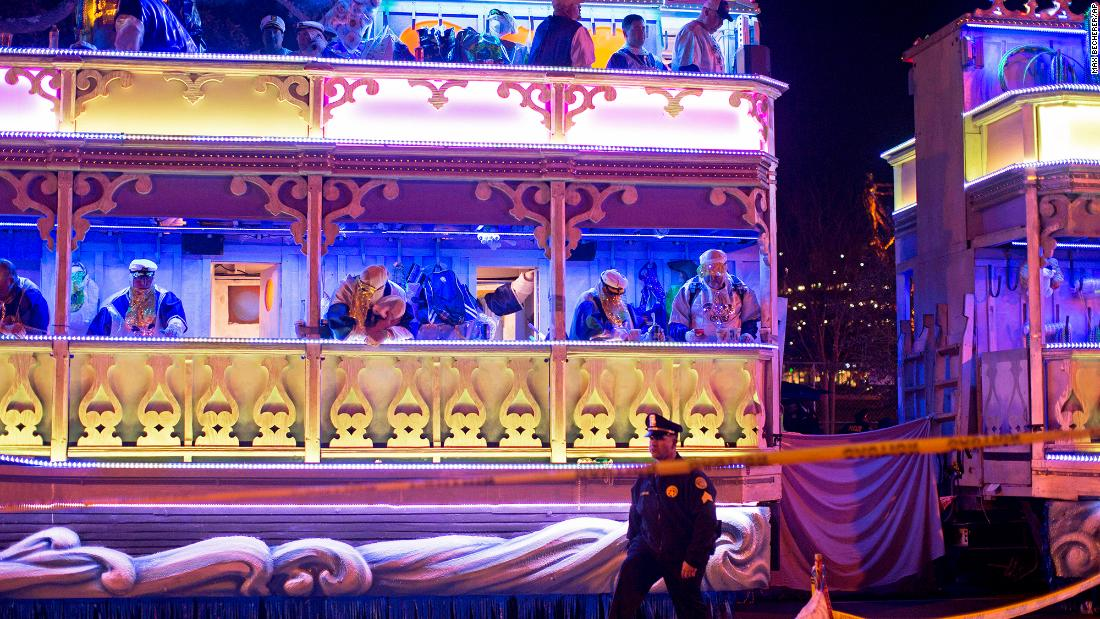 New Orleans parade death: For the second time this week, a person was fatally hit by a float