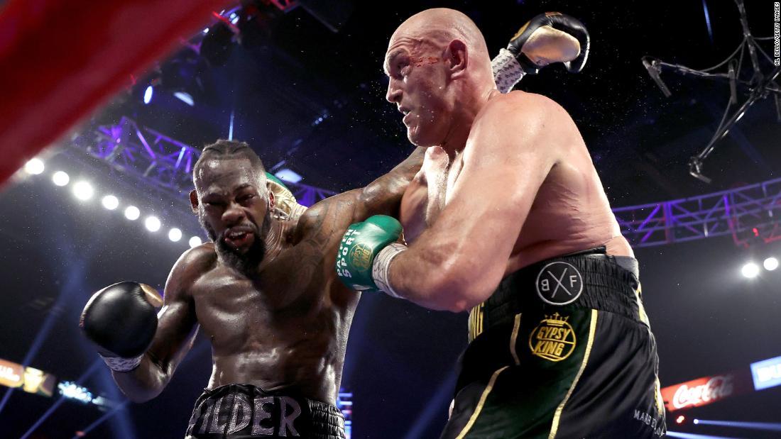 ผลการค้นหารูปภาพสำหรับ Deontay Wilder to fight Tyson Fury in the summer, says promoter Frank Warren