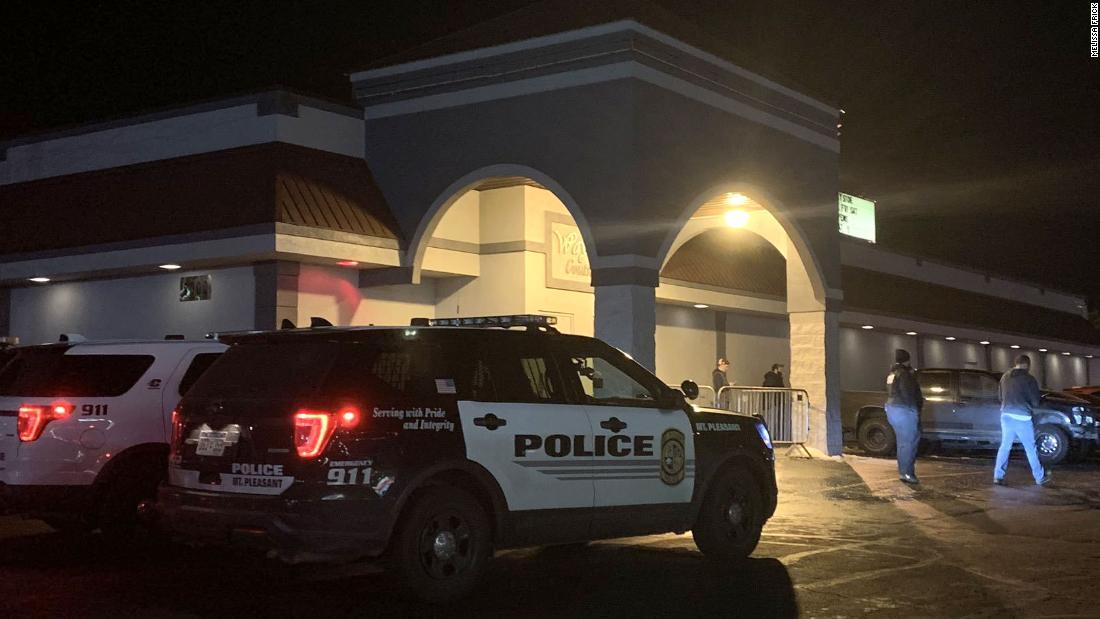 Drei Verletzte Personen nach Michigan night club stechen