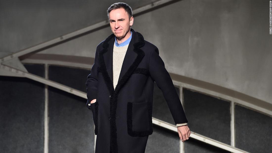 Prada taps designer Raf Simons as co-creative director