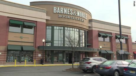 A man was arrested for allegedly recording women in a bathroom stall at this Barnes & Noble in Clifton, New Jersey.