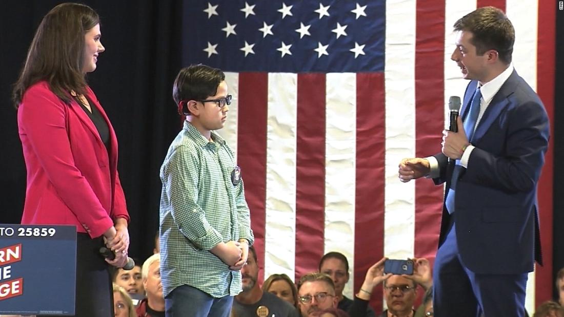 'I want to be brave like you': 9-year-old asks Pete Buttigieg to help him tell the world he's gay