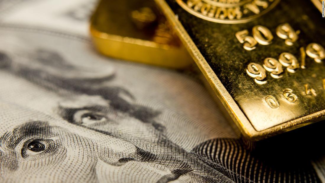 Ο χρυσός είναι σε μια επτά-έτος υψηλό