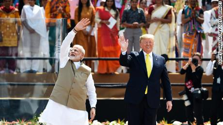 Image result for trump in india