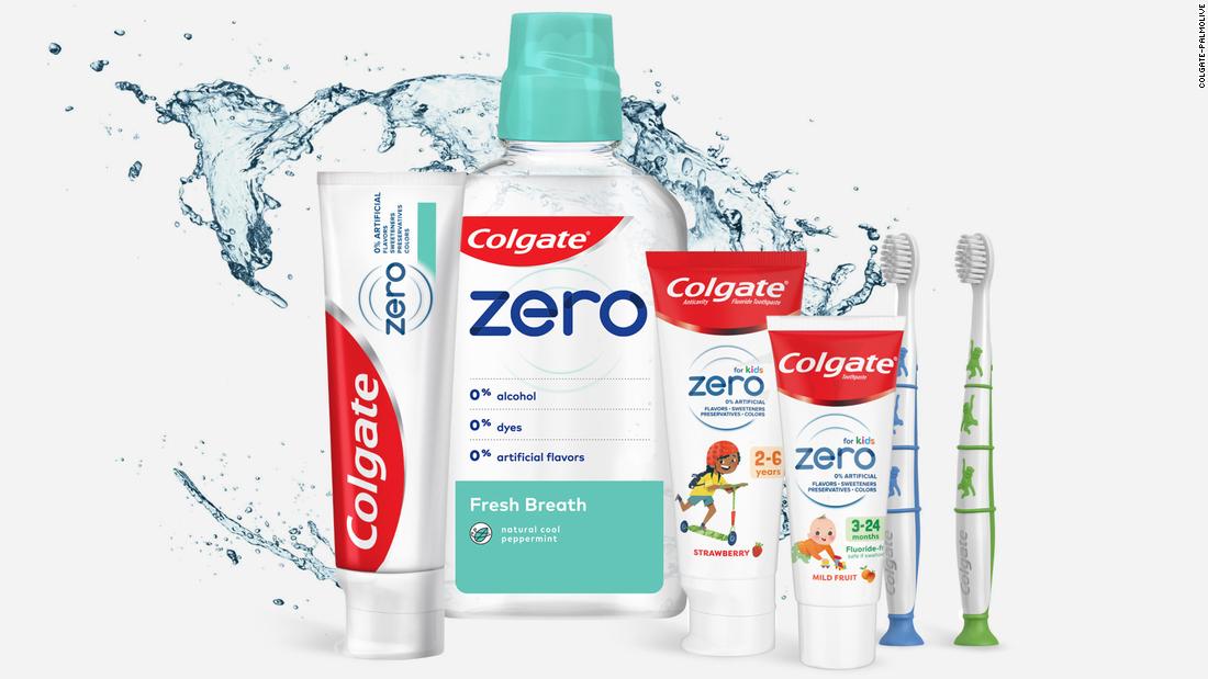 Colgate toothpaste goes vegan