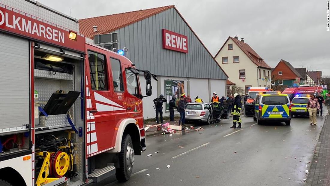 Germany: Car plows 'intentionally' into Volkmarsen carnival crowd - CNN