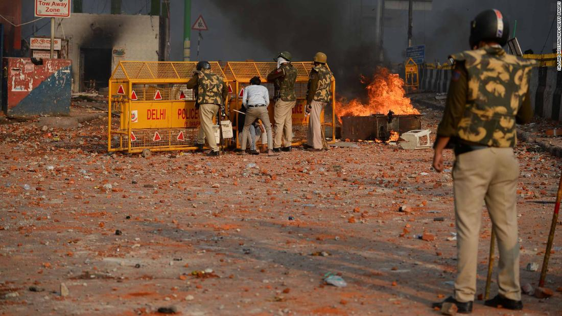 Nine dead, more than 100 injured in New Delhi clashes amid Trump's visit