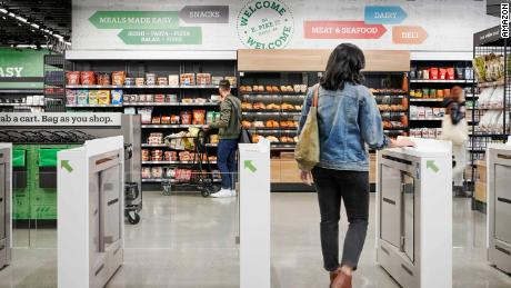 The Amazon Go grocery store takes its cashier-less concept to a much bigger scale.