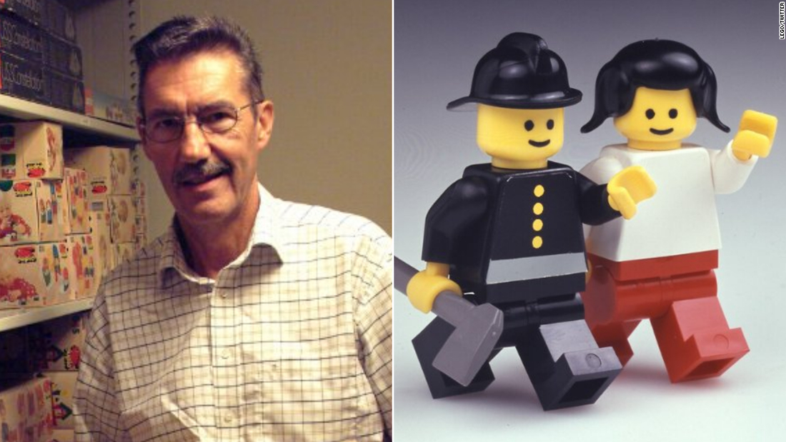 Lego minifigure creator and 'unsung hero' of the toy industry Jens Nygaard Knudsen dies