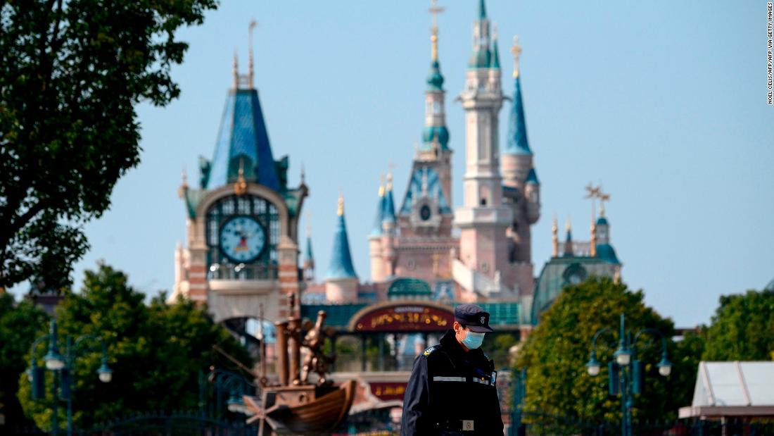 Disney theme parks feel pain amid coronavirus shutdown