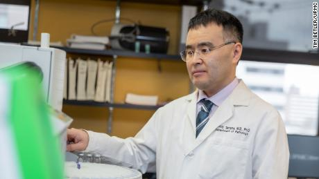 Dr. Kenichi Tamama, medical director of the UPMC Clinical Toxicology Laboratory, first had the idea the problem may be in the bladder.