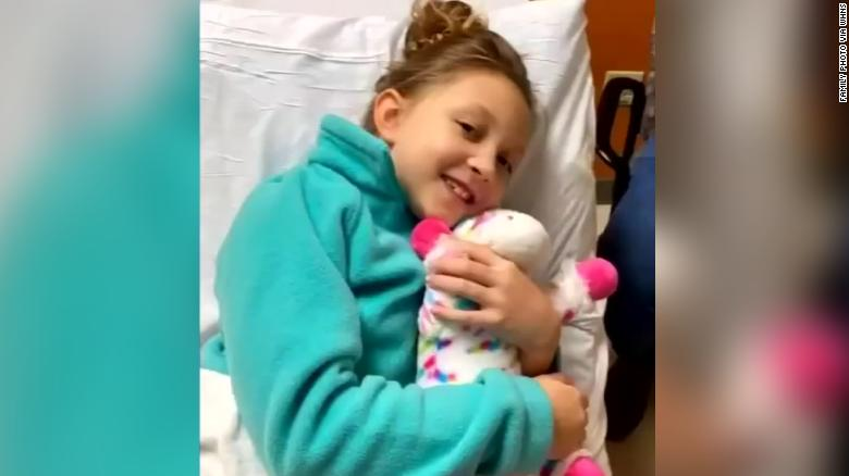 Paisley Cogsdill was a healthy 7-year-old when she went into surgery, relatives told WHNS.