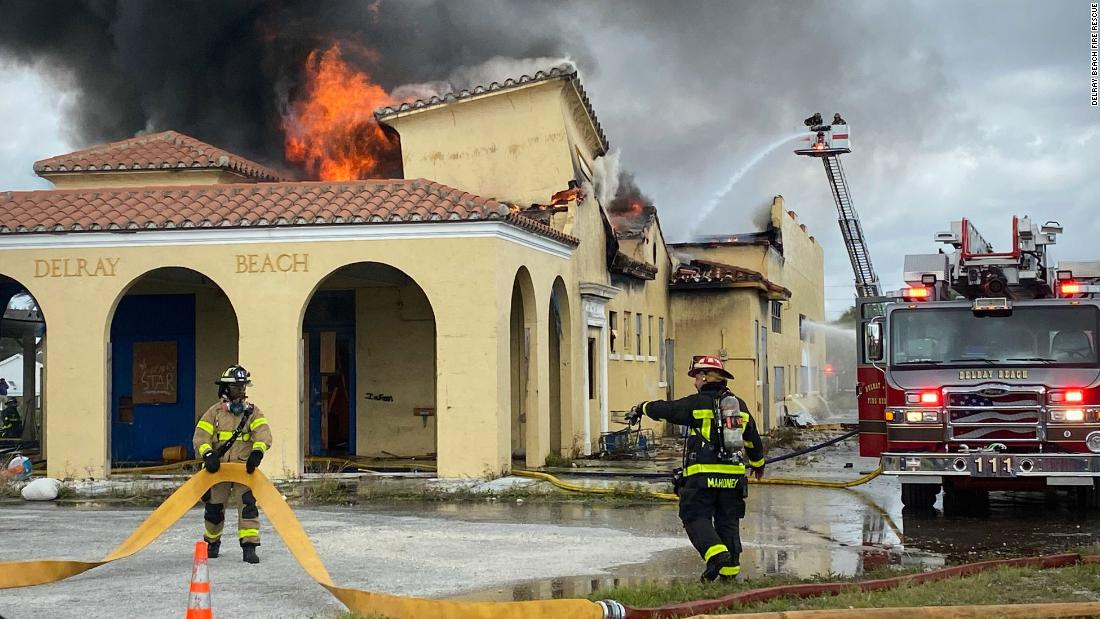 Four teens arrested in connection with fire that destroyed a nearly 100-year-old train depot