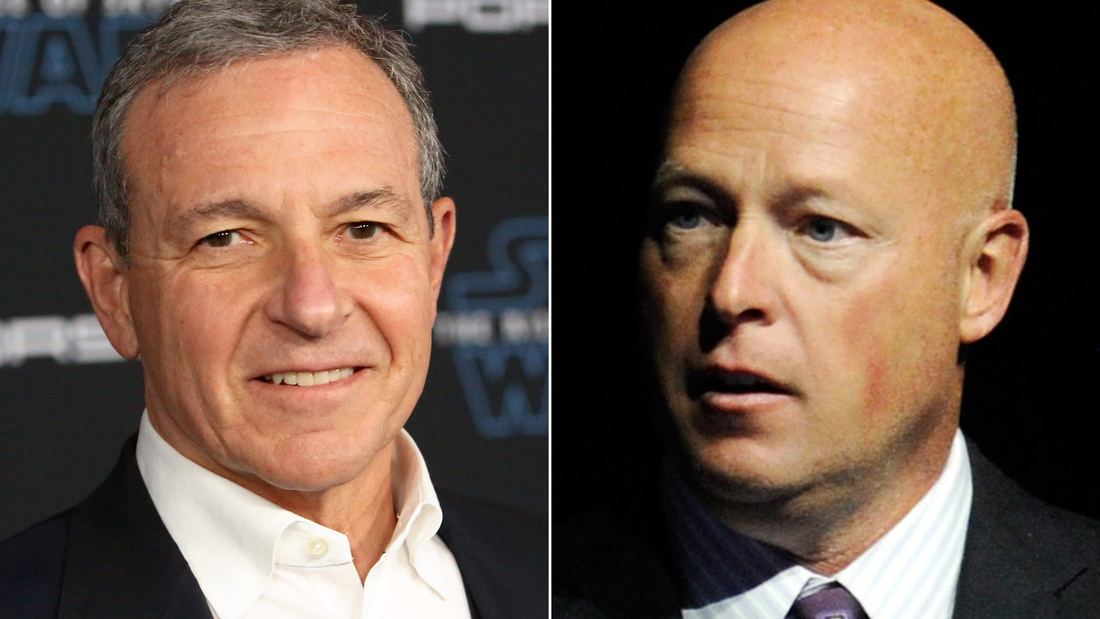Bob Iger steps down as Disney CEO. Bob Chapek replaces him